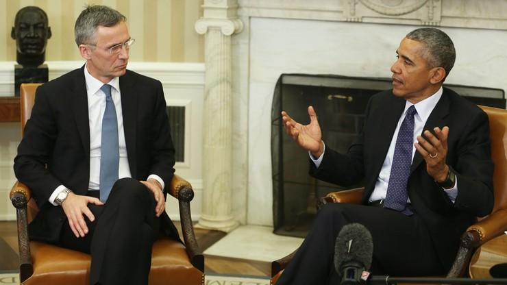 Obama i sekretarz generalny NATO o walce z IS i wschodniej flance