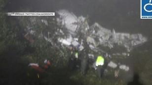 Kolumbia: katastrofa samolotu, na pokładzie brazylijska drużyna piłkarska