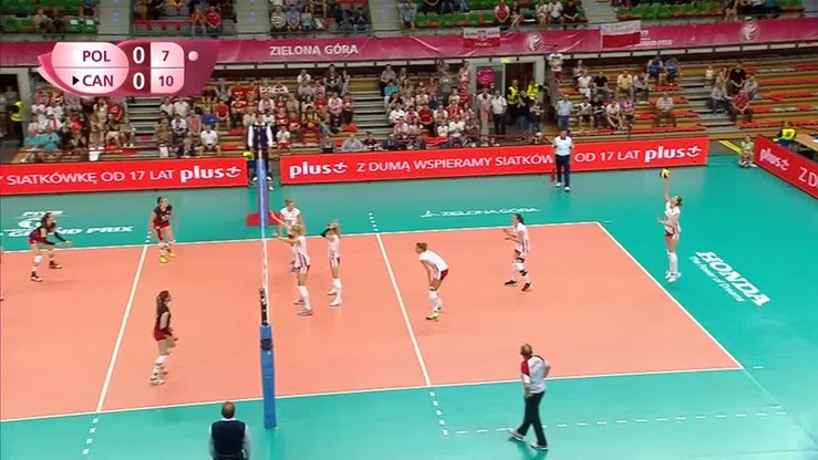 Polska - Kanada 3:1. Skrót meczu
