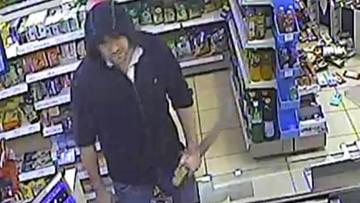 09-08-2016 08:27 Kraków: napadł z maczetą na stację benzynową. Policja prosi o pomoc