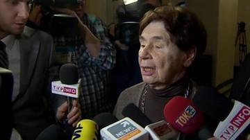 Romaszewska: poprawki PiS do ustawy o SN są