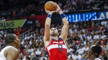 2016-10-31 NBA: Porażka Wizards po dogrywce, podwójna zdobycz Gortata