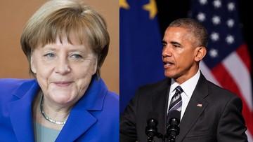 Obama i Merkel we wspólnym artykule zachwalają TTIP