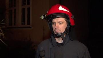 Pożar w domu dziecka w Zabrzu. Ewakuowano ponad 20 osób