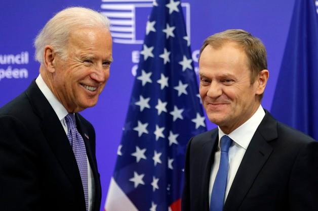 Tusk i Biden o Ukrainie: walczy o przetrwanie