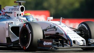 2015-09-03 Bottas i Massa nadal w Williamsie