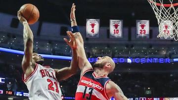 2016-11-18 NBA: Trzecie zwycięstwo Wizards, 16 punktów Gortata
