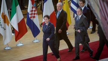 """10-03-2017 06:51 """"Dziecinne podejście"""". Unijni dyplomaci w ostrej dyskusji z premier Szydło"""