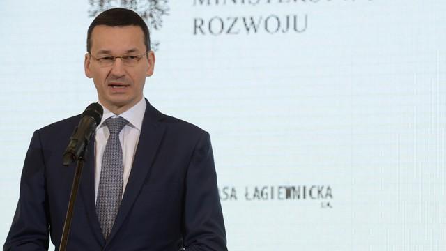 Morawiecki: w tym roku wzrost będzie solidny, PKB przekroczy 3 procent