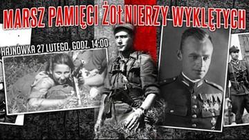 15-02-2016 19:35 Nie ma prezydenckiego patronatu nad I Hajnowskim Marszem Żołnierzy Wyklętych