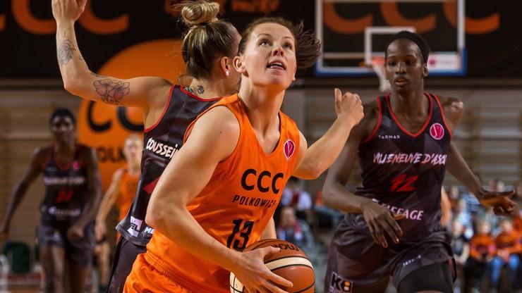 Euroliga: Koszykarki CCC Polkowice słabsze od ESBVA Lille Metropole