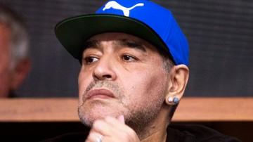 2016-11-25 Maradona w Zagrzebiu: Nie zasługuję na to, aby mnie traktować jak idiotę!