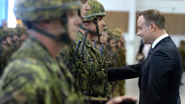 Prezydent Duda: NATO stoi na straży prawa międzynarodowego