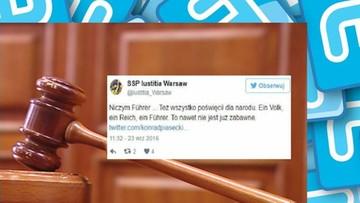 26-09-2016 14:47 Porównał Kaczyńskiego do Hitlera. Sędzia przeprasza i składa rezygnację