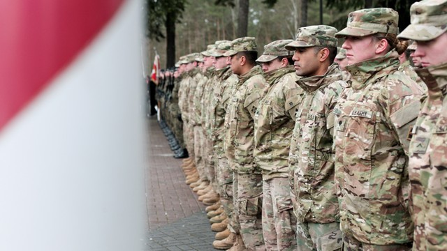 MON: W Polsce jest ok. 3,5 tys. żołnierzy z USA