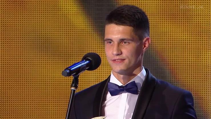 2016-02-06 Gala Piłki Nożnej: Bartosz Kapustka odkryciem roku!