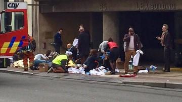 22-03-2016 10:28 Paraliż w pobliżu stacji metra Maelbeek. Goście hotelu Thon uwięzieni w środku