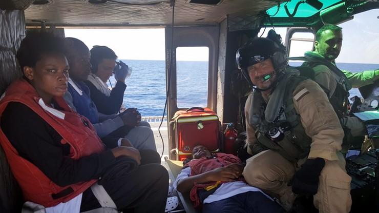 Lekarze bez Granic natrafili na ponton z 200 uchodźcami i 22 ciałami