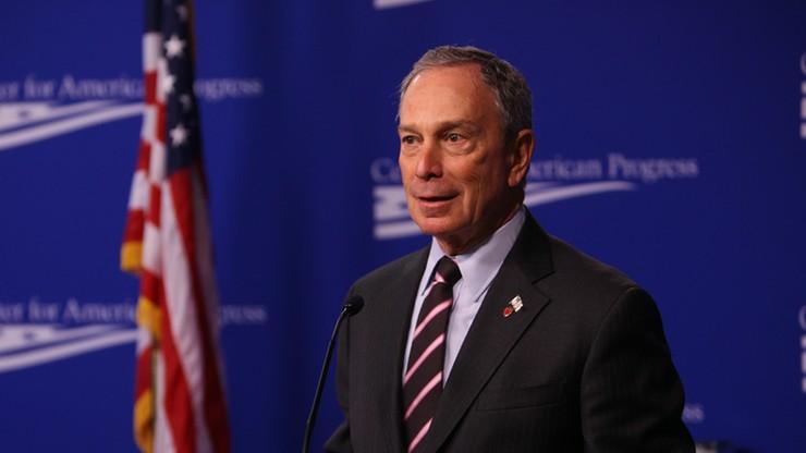 USA: Bloomberg chce wystartować w wyborach prezydenckich