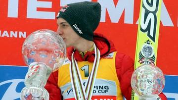 2017-01-10 Schlierenzauer: Cieszę się z sukcesu Stocha i czekam na... swój