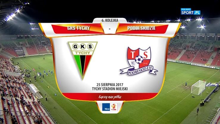 2017-08-25 GKS Tychy - Podbeskidzie Bielsko-Biała 3:3. Skrót meczu