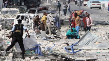 Krwawe ataki ekstremistów w Somalii. Zdobyli bazę kenijskich wojsk