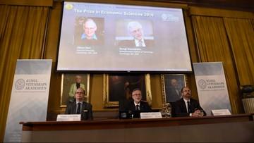 10-10-2016 12:49 Ekonomiczny Nobel za teorię kontraktu