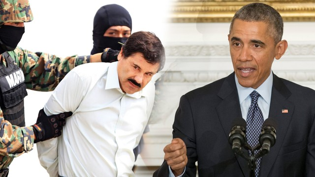 Obama gratuluje Meksykowi schwytania El Chapo