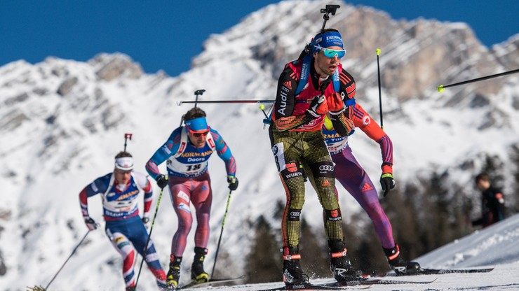 2017-02-19 MŚ w biathlonie: Triumf Schemppa, Fourcade bez medalu