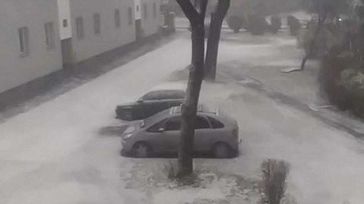 Śnieg za oknem. Zima zawitała do Sosnowca