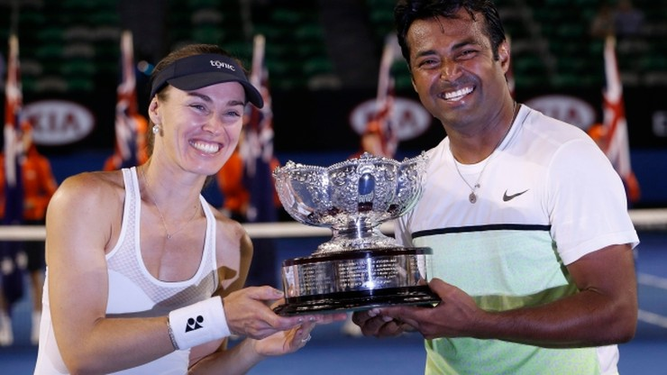Hingis i Paes najlepsi w grze mieszanej w Australian Open