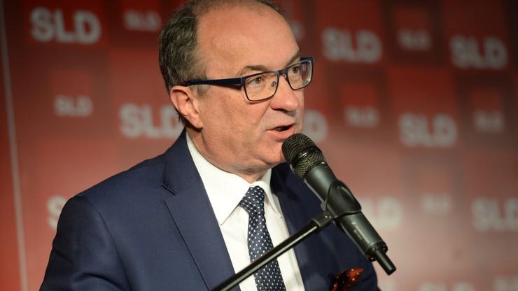 """Szef SLD o """"gorszącej walce o przywództwo"""" opozycji i marginalizowaniu Sojuszu"""