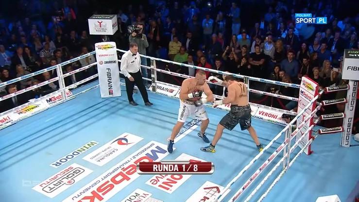 Różański znokautował Sosnowskiego w pierwszej rundzie!