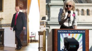 27-07-2017 14:41 Trump: osoby transpłciowe nie mogą służyć w wojsku. Lady Gaga: tymi słowami zagrażasz ich życiu