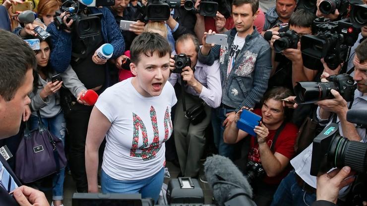 """Sawczenko wróciła do ojczyzny. """"Dziękuję za odzyskanie wolności"""""""