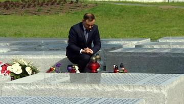 Prezydent oddał hołd ofiarom zbrodni wołyńskiej.