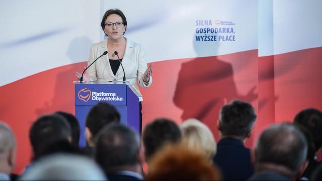 Kopacz: PO nie pozwoli zepchnąć Polski na margines Europy