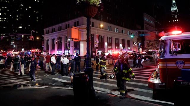 Wybuch na Manhattanie. 29 osób rannych
