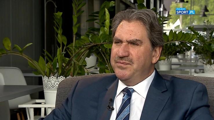 Rozmowa z prezydentem Międzynarodowej Federacji Tenisa