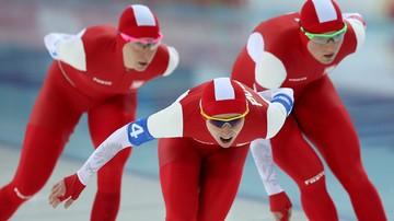 2015-12-05 PŚ w łyżwiarstwie szybkim: Czwarte miejsce Polek w biegu drużynowym