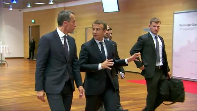 Marcon ominie Warszawę i Budapeszt. Czy prezydent Francji chciał upokorzyć niepokornych?