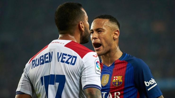 Neymar zepchnął rywala ze schodów tuż po meczu (WIDEO)