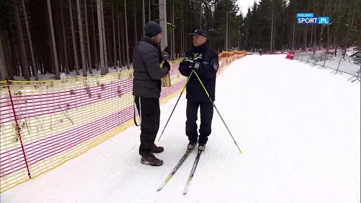 ME w biathlonie: Czy warto uciekać przed policją... na nartach?