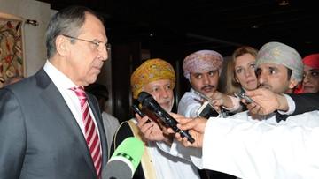 03-02-2016 11:02 Ławrow: Rosja będzie bombardować Syrię dopóki nie pokona  terrorystów