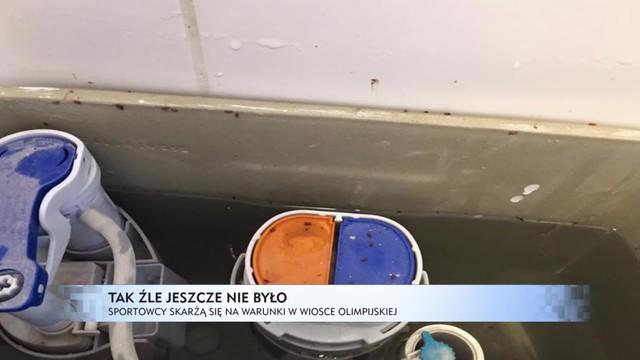 Rio - wioska olimpijska poniżej standardów. Brud i robaki w pokojach sportowców