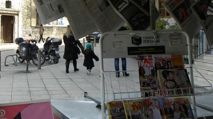 Połowa greckich dziennikarzy bez pracy