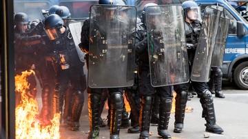 17-05-2016 19:11 We Francji protesty przeciwko zmianom w prawie pracy. Hollande: nie ugnę się