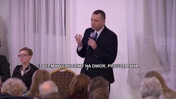 """14-12-2017 21:57 Mieszkańcy gminy Baranów nie chcą u siebie lotniska. """"Czasem wychodzimy na dwór"""""""