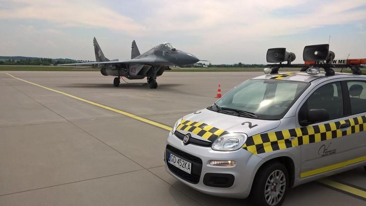 Pięć MIG-ów awaryjnie lądowało w Gdańsku