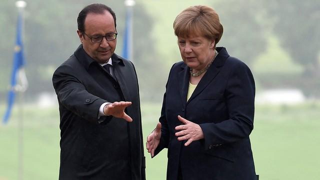 Hollande i Merkel obchodzą wspólnie 100. rocznicę bitwy pod Verdun